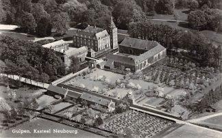 Ansichtkaart Gulpen Kasteel Neubourg 1955 KLM Luchtfoto no. 6414 HC23553
