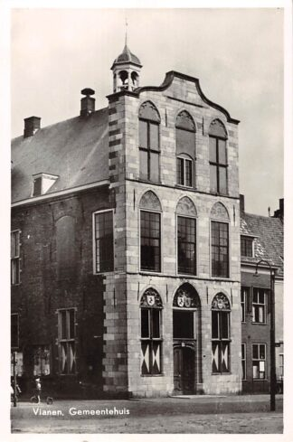 Ansichtkaart Vianen Gemeentehuis 1956 HC23563