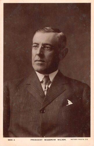 Ansichtkaart USA President Woodrow Wilson Noord-Amerika HC23670