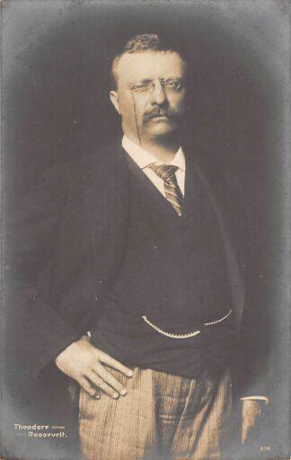 Ansichtkaart USA Theodore Roosevelt Noord-Amerika Type fotokaart HC23671