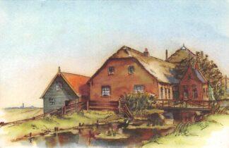Ansichtkaart Rijnsaterswoude De Polderboerderij in het lage land aan het hoge water HC23706