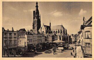 Ansichtkaart Breda Grote markt HC23713
