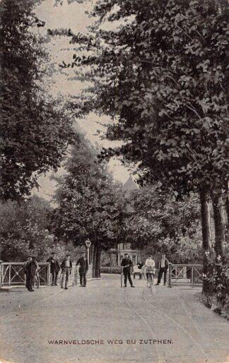 Ansichtkaart Zutphen Warnveldsche weg 1909 HC23738