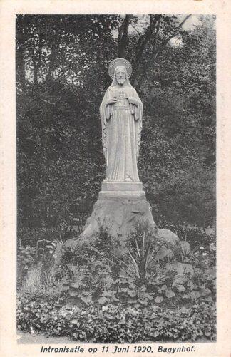 Ansichtkaart Amsterdam Bagijnhof Intronisatie Monument op 11 Juni 1920 HC23739