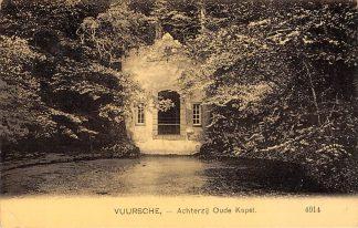 Ansichtkaart Lage Vuursche Achterzijde Oude Kapel 1909 Nauta 4914 Baarn HC23759