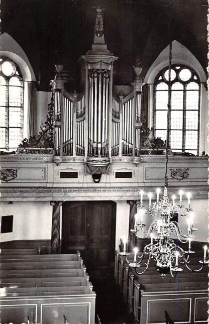 Ansichtkaart Woubrugge Interieur Ned. Hervormde Kerk Orgel HC23795