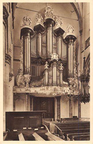 Ansichtkaart Dordrecht Orgel i.d. Groote Kerk HC23796