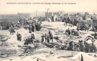 Ansichtkaart Amsterdam Panorama Jerusalem Plantage Middenlaan II. De Kruisdood HC23798