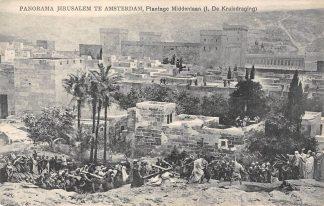 Ansichtkaart Amsterdam Panorama Jerusalem Plantage Middenlaan I. De Kruisdraging HC23799