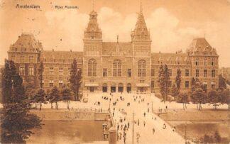 Ansichtkaart Amsterdam Rijks Museum 1910 HC23810