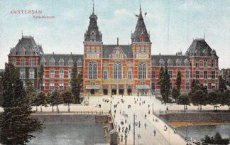Ansichtkaart Amsterdam Rijks Museum 1908 HC23811
