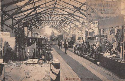 Ansichtkaart Nijmegen Tentoonstelling Oud-Heidelberg 1912 Interieur Tentoonstelling Stand Ned. Padvinders Organisatie Scouting HC23820