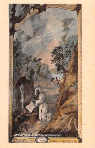Ansichtkaart Houthem Kerk Sint Gerlach Interieur De H. Gerlacus kluizenaar te Houthem Limburg HC23833