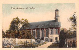 Ansichtkaart Houthem Kerk Sint Gerlach met begraafplaats Limburg HC23835