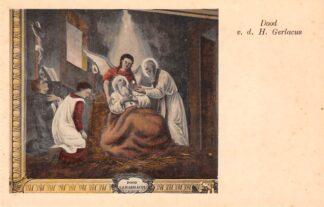 Ansichtkaart Houthem Kerk Sint Gerlach Interieur Dood v.d. H. Gerlacus Limburg HC23840