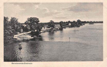 Ansichtkaart Sliedrecht Benedeneinde aan de Beneden-Merwede HC23843