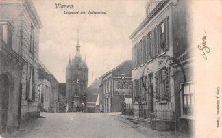 Ansichtkaart Vianen Lekpoort met buitenstad 1904 HC23847
