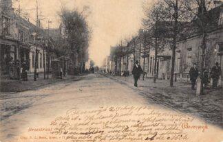 Ansichtkaart Beverwijk Breestraat 1902 HC23850