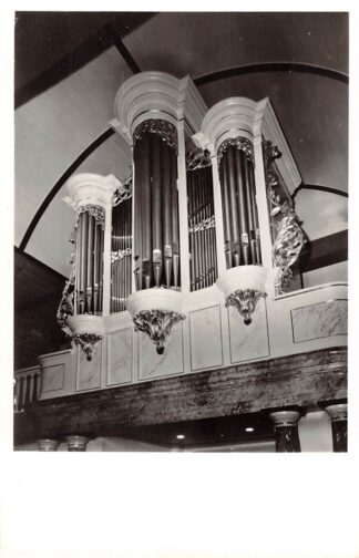 Ansichtkaart Oldeberkoop Het orgel in de Kerk 1965 Ooststellingwerf HC23856