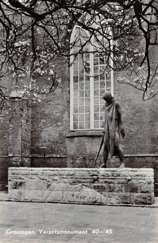 Ansichtkaart Groningen Verzets monument '40 - '45 WO2 HC23872