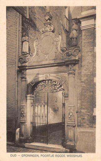 Ansichtkaart Oud - Groningen Poortje Roode Weeshuis HC23876