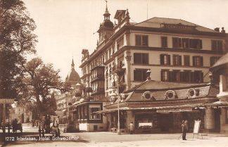 Ansichtkaart Zwitserland Interlaken Hotel Schweizerhof Schweiz Suisse Switzerland Europa HC23943