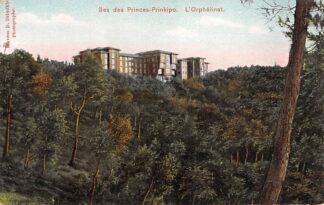 Ansichtkaart Turkije Constantinople Istanbul Hes des Princes-Prinkipo L'Orphelinat Turkiye Trukye Europa HC23958