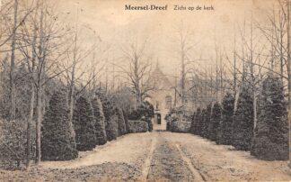 Ansichtkaart België Meersel-Dreef Zicht op de Kerk Europa HC23977