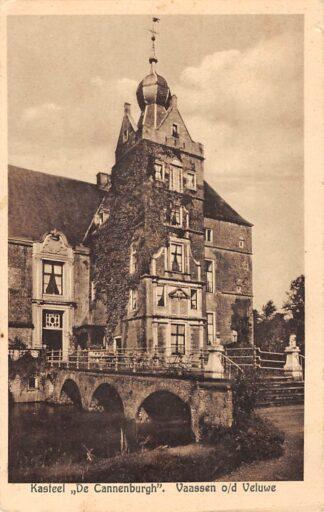 Ansichtkaart Vaassen op de Veluwe Kasteel De Cannenburgh 1934 Epe HC23982