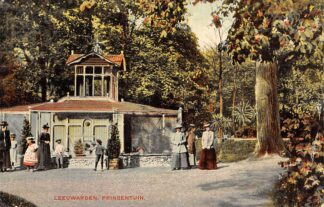 Ansichtkaart Leeuwarden Prinsentuin 1908 HC24045