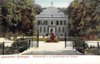 Ansichtkaart Driebergen Sparrendaal Buitenverblijf v.d. Aartsbisschop van Utrecht HC24046