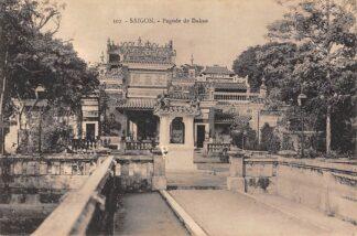 Ansichtkaart Vietnam Saigon Pagode de Dakao Azië HC24062