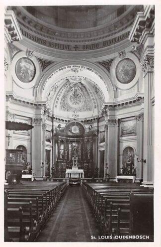 Ansichtkaart Oudenbosch Instituut St. Louis Interieur Kapel HC24130