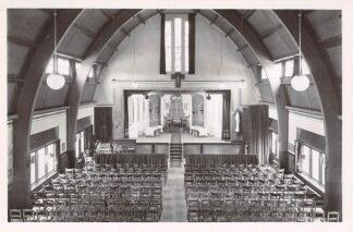 Ansichtkaart Oudenbosch Instituut St. Louis Aula Toneelzaal 1948 HC24149