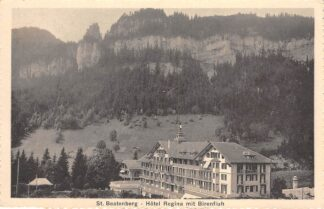Ansichtkaart Zwitserland St. Beatenberg Hotel Regina mit Birenfluh Schweiz Suisse Switzerland Europa HC24162