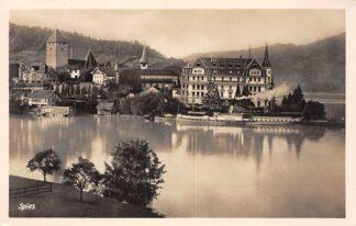 Ansichtkaart Zwitserland Spiez Dampfer Bubenberg Scheepvaart Schweiz Suisse Switzerland Europa HC24163