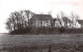 Ansichtkaart Wetsens Wetzens Kerk op terprest 1971 Bij Dokkum HC24177