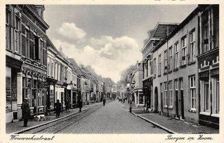 Ansichtkaart Bergen op Zoom Wouwschestraat Hotel D'Oranjeboom 1939 HC24229