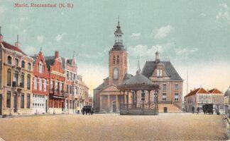 Ansichtkaart Roosendaal Roozendaal Markt 1919 HC24235