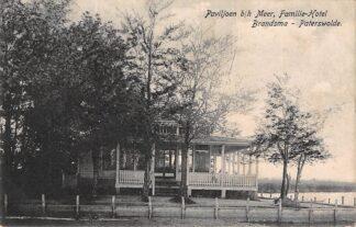 Ansichtkaart Paterswolde b/h Meer Familie-Hotel Brandsma 1916 HC24248