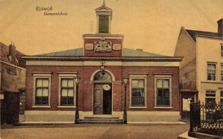 Ansichtkaart Rijswijk (ZH) Gemeentehuis 1908 HC24249
