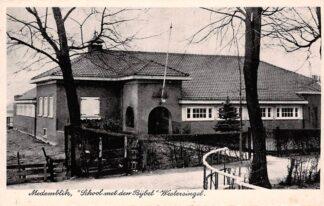 Ansichtkaart Medemblik School met den Bijbel Westersingel HC24276