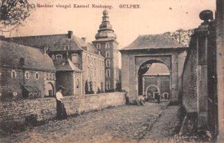Ansichtkaart Gulpen Rechter vleugel Kasteel Neubourg Gulpen-Wittem HC24281