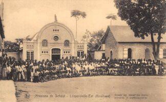Ansichtkaart Congo Belge Leopoldville - Est Kinshasa Groupe des eleves des ecoles primaires et professionelles Missions de Scheut België Afrika HC24286