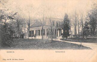 Ansichtkaart Emmen Gemeentehuis 1907 HC24293