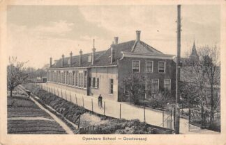 Ansichtkaart Goudswaard Openbare School Hoeksche Waard HC24299