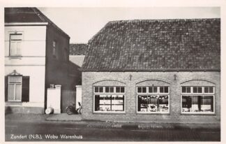 Ansichtkaart Zundert Wobu Warenhuis 1948 HC24301