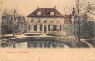Ansichtkaart Rijswijk (GD) Pastorie rond 1900 Buren Betuwe HC24302