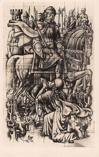 Ansichtkaart Rijswijk (ZH) Kapel Maria van Altijd Durende Bijstand St. Bonifacius Kerk Koning Davi d en Abigail 's-Gravenhage HC24344