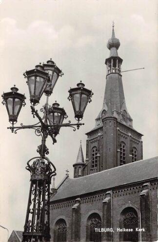 Ansichtkaart Tilburg Heikese Kerk 1965 HC24350